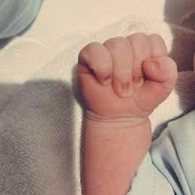 Antoine Griezmann freut sich über die Ankunft seines Sohnes