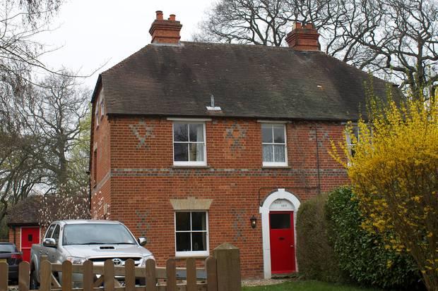 Kindheits-Haus von Herzogin Catherine in Bradfield Southend