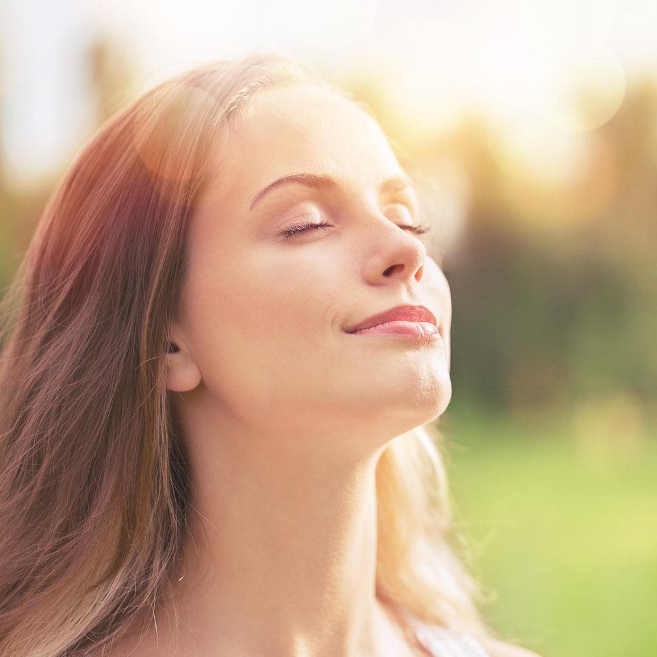 Bewusstes Atmen verlernen wir leider im Laufe unseres Lebens.