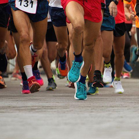 Zahlreiche Menschen suchen die sportliche Herausforderung im Marathon.