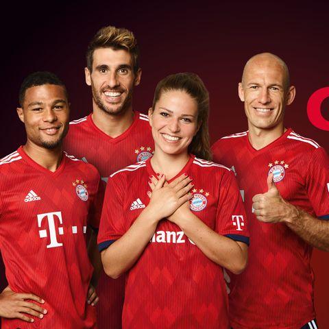 Die Aktion #FamilienChancen von P&G wird vom FC Bayern München unterstützt