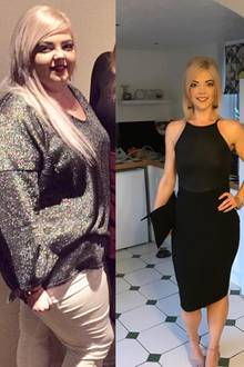 Lucie Hadley nahm über 60 Kilogramm ab.