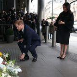 19. März 2019  Prinz Harry undHerzogin Meghan haben in London der Opfer des Terroranschlags im neuseeländischen Christchurch gedacht.
