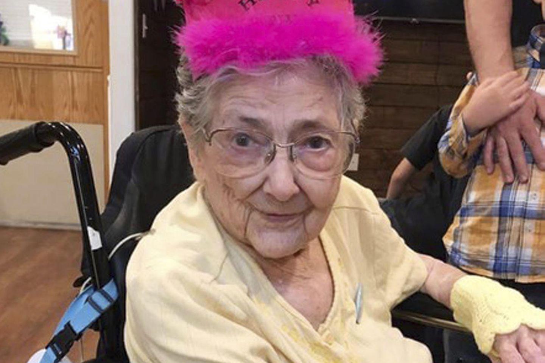 Rose Marie Bentley wurde 99 Jahre alt