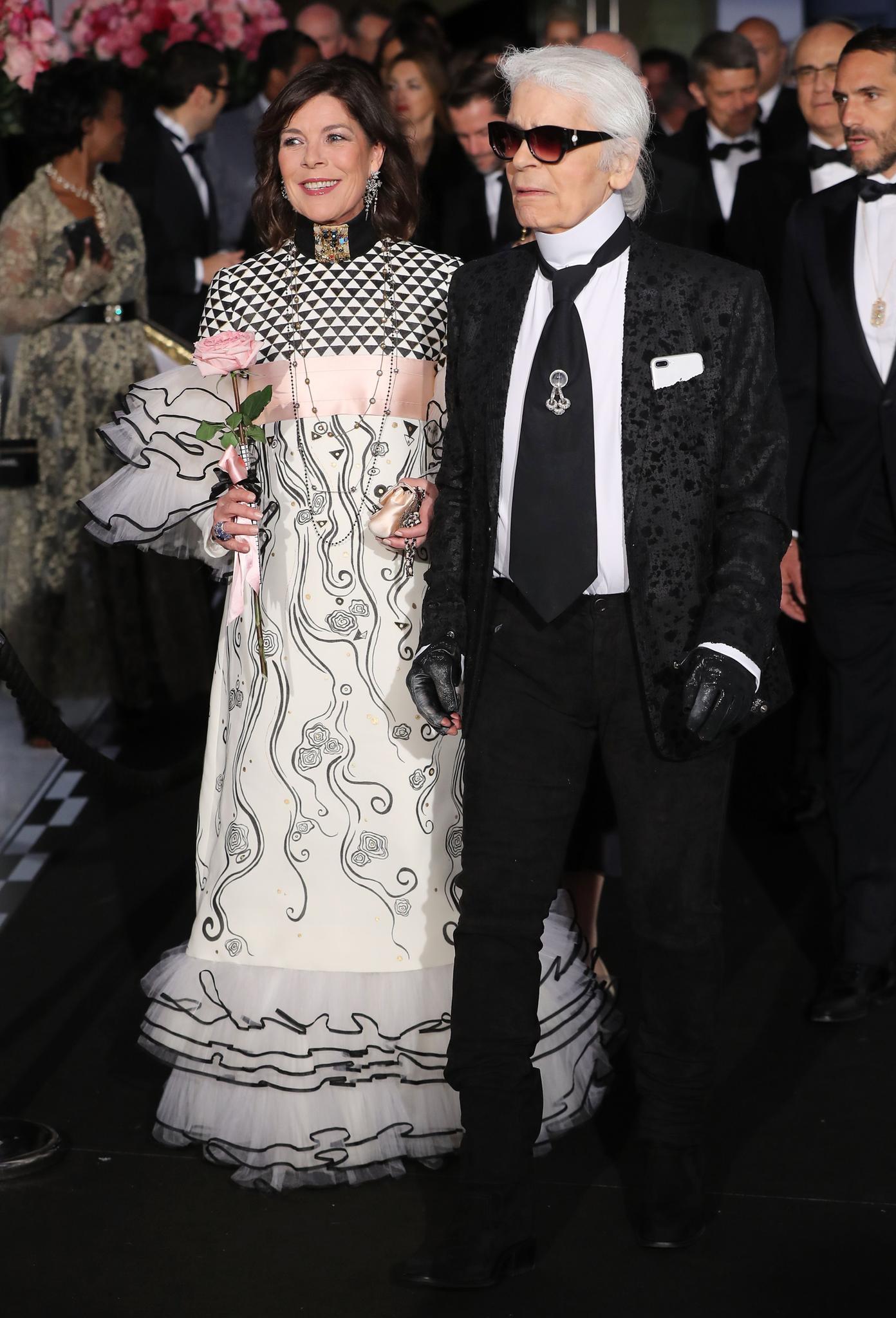 Caroline von Hannover und Karl Lagerfeld sind eng befreundet.