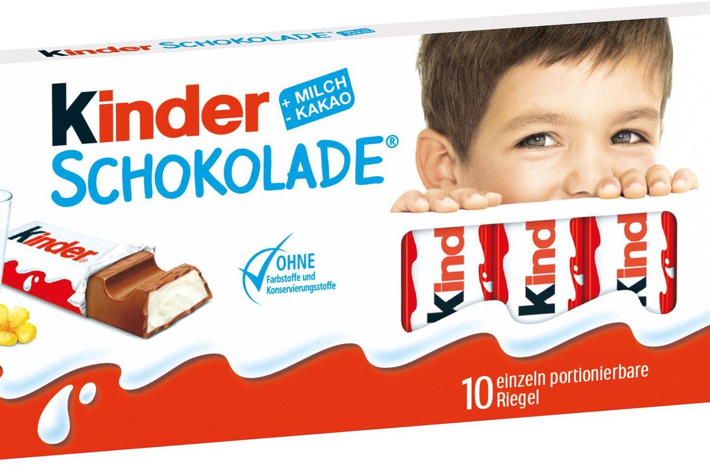 Die Kinderschokolade bekommt ein neues Design