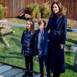 2019  Im April weihen Prinzessin Josephine und Prinz Vincent zusammen mit ihrer Mutter Prinzessin Mary das neue Panda-Gehege im Kopenhagener Zoo ein.