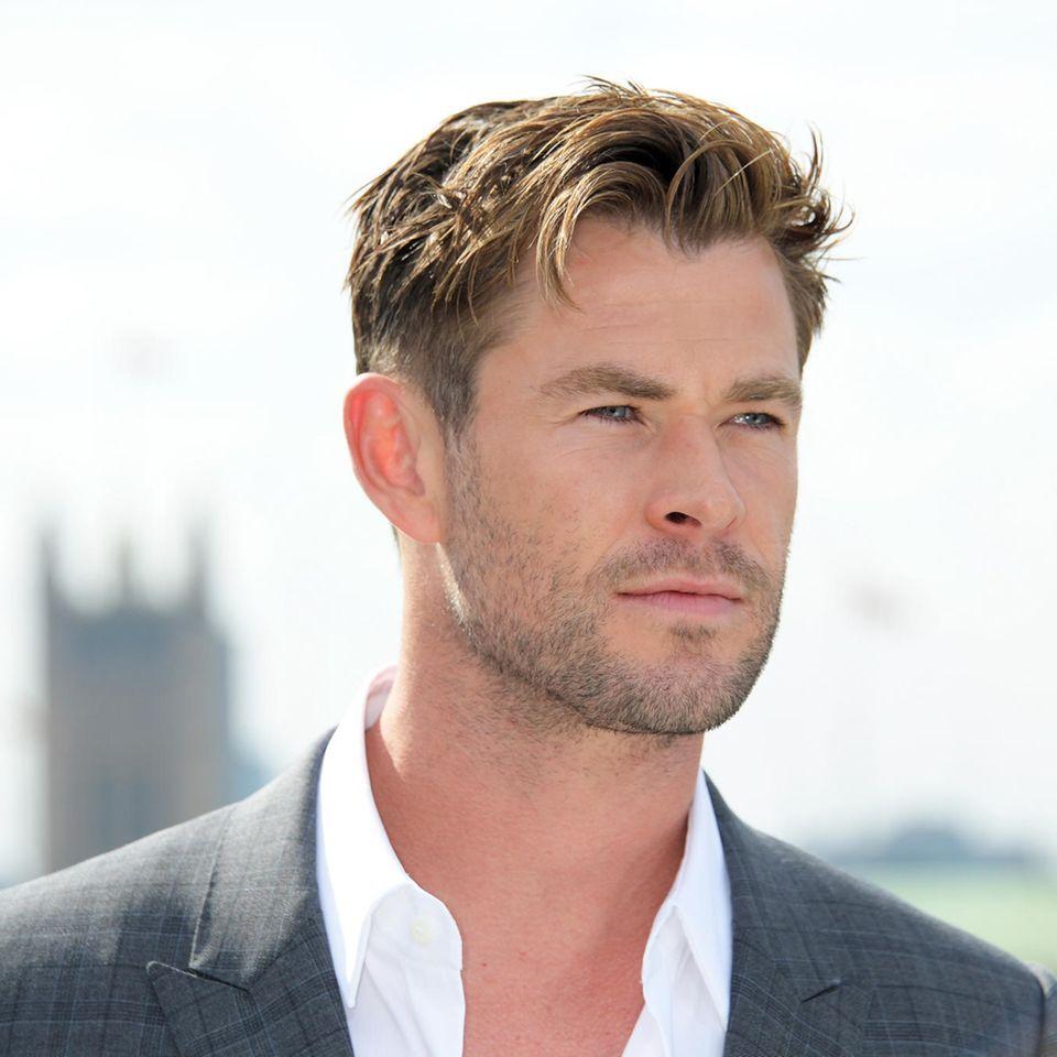 Chris Hemsworths Fotos sind in Sicherheit