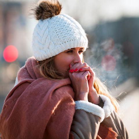 Winterkälte - für Menschen mit einer Kälteurtikaria ein ernsthaftes Problem.