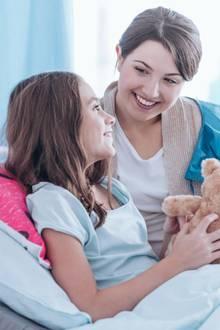 Ein amerikanisches Krankenhaus hat einen Trick entwickelt, um Kinder vor der Op zu beruhigen.