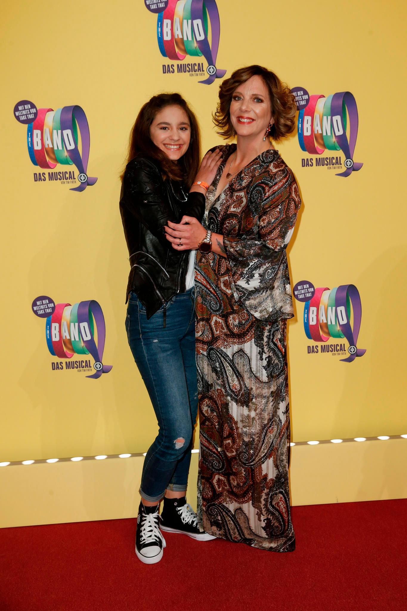 Jada und Danni meisterten ihren Auftritt als starkes Frauen-Duo