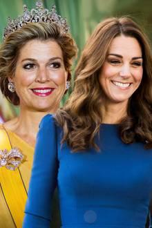Königin Máxima, Herzogin Catherine, Prinzessin Victoria