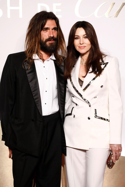 Keine Frage des Alters:Monica Bellucci und ihr junger Freund Nicolas Lefebvre