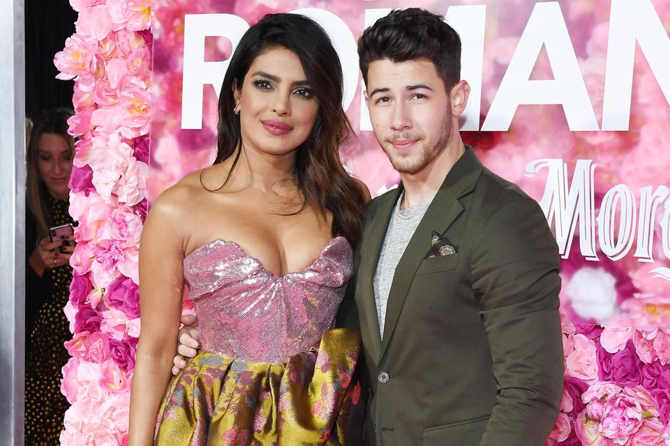 Priyanka Chopra + Nick Jonas