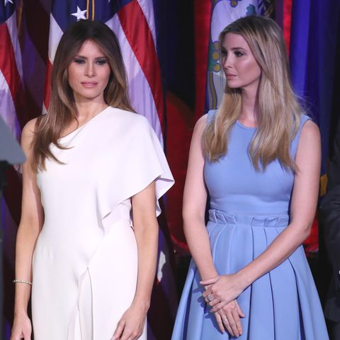 Melania Trump mit Stieftochter Ivanka Trump