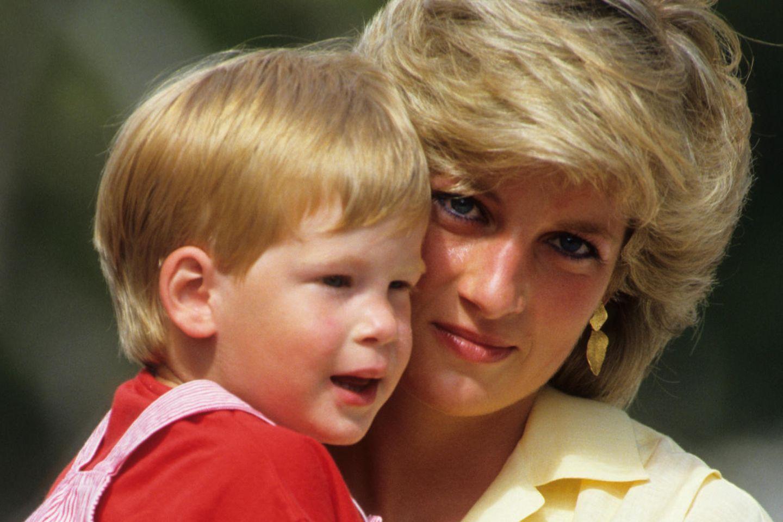 Prinz Harry, Prinzessin Diana