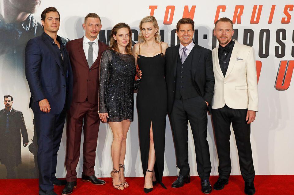 "Rebecca Ferguson auf der ""Mission Impossible""-Premiere."
