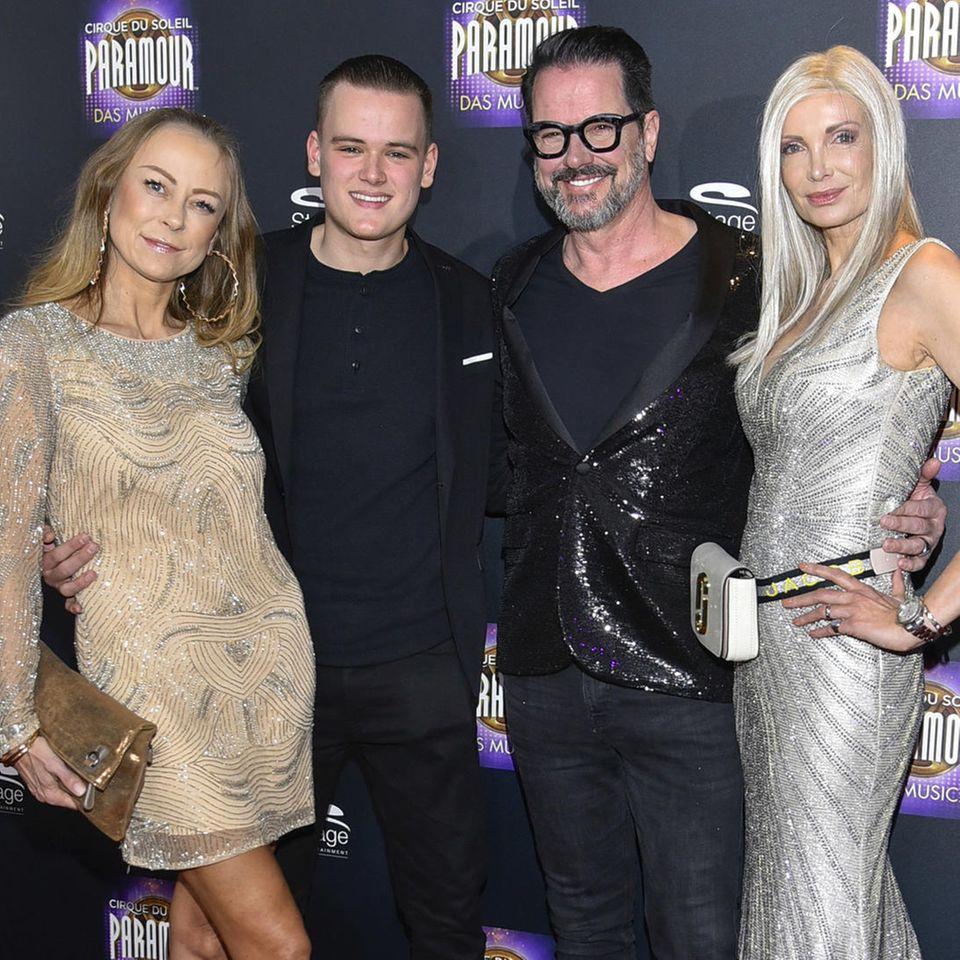 Jenny Elvers, Paul Elvers, Alex Jolig, Britt Jolig