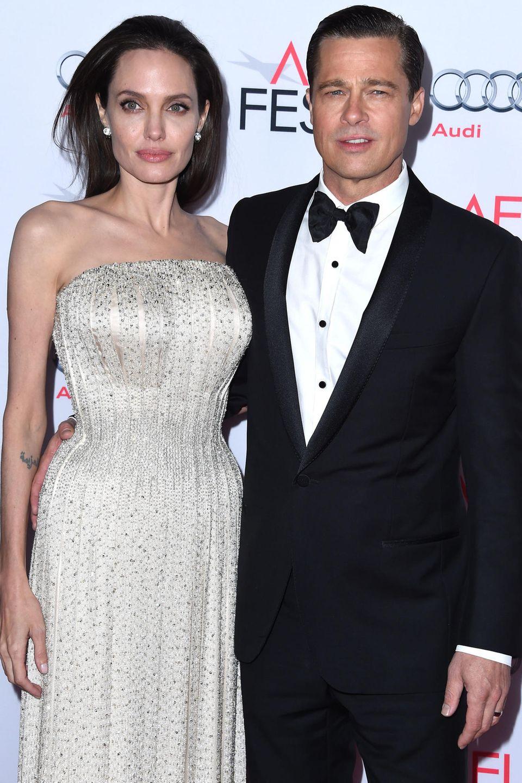 Angelina Jolie und Brad Pitt sind nun offiziell wieder Single
