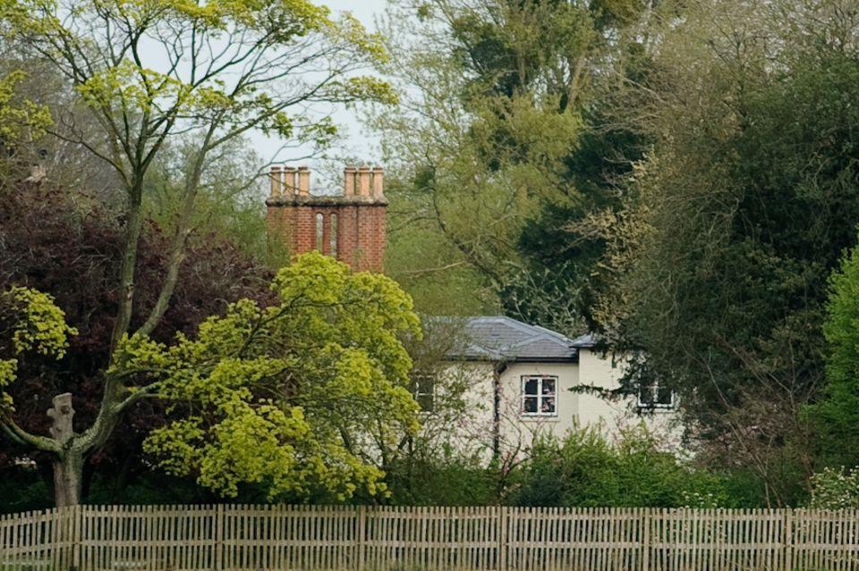 Im Frogmore Cottage bereitet sich das Herzogspaar auf die Geburt vor.