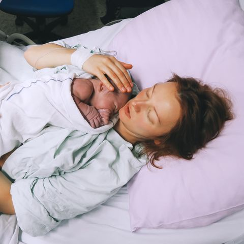 Charlotte Dubard hatte nichts von ihrer Schwangerschaft bemerkt