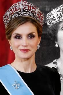Königin Letizia + Königin Victoria Eugenia