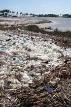 Umweltverschmutzung, Ada Foah, Ghana, Umweltverschmutzung, Zeit für Nachhaltigkeit