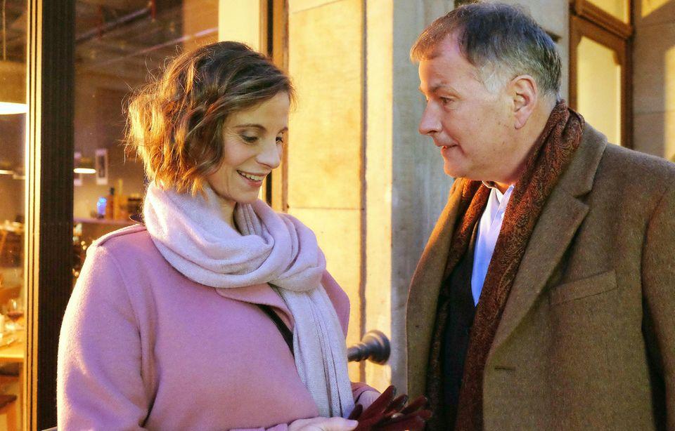 """Julia Jäger und Thomas Rühmann in der ARD-Serie """"In aller Freundschaft"""""""