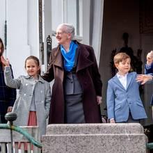 Prinzessin Isabella, Prinzessin Josephine, Königin Margrethe, Prinz Vincent, Prinz Christian