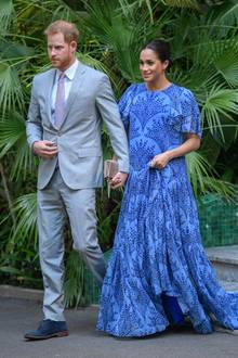 An ihrem letzten Abend in Marokko besuchen Herzogin Meghan und Prinz Harry KönigMohammed VI.
