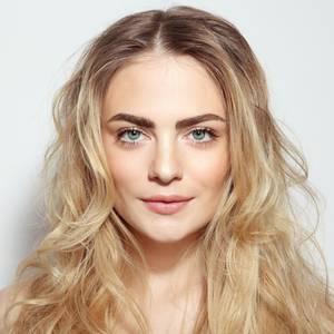 Augenbrauen blonde haare