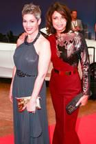 "Die ""Rote Rosen""-Darsteller Cheryl Shepard und Gerit Kling"