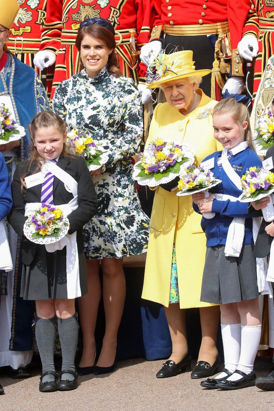 Prinzessin Eugenie, Queen Elizabeth
