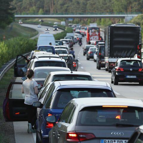 An Ostern brauchen Autofahrer Geduld