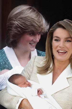 Prinzessin Diana, Königin Letizia, Herzogin Catherine