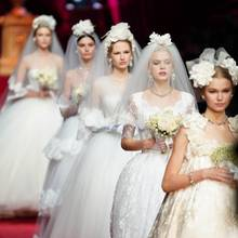 Dolce & Gabbana Bridal Runway