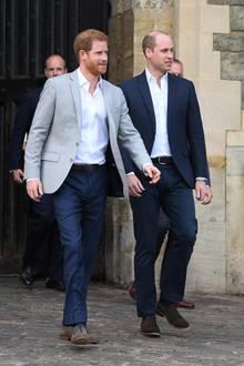Prinz Harry, Prinz William