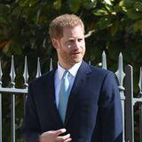 Prinz Harry ist ohne seine hochschwangere Meghan gekommen. Die Spekulationen, ob das Royal Baby vielleicht schon längst da, sind bereits im Gange.
