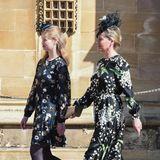 Lady Louise Windsor und ihr Mutter Sophie von Wessex haben sich für einen floralen Partnerlook entschieden.