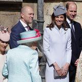 Man kann wirklich sehen, wie sehr Herzogin Catherine ihre Schwiegergroßmutter mag.