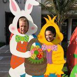 Witzige Ostergrüße aus Dubai schicken Oliver Pocher und seine Freundin Amira.