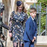 Wie die Zeit vergeht! James, Viscount Severn ist wie seine Schwester Louise ganz schön groß geworden.