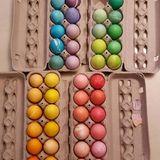 Sarah Jessica Parker hat sich für die Osterfeiertage mit Proviant in allen Farben eingedeckt.