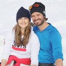 22. April 2019  Zwei hübsche Schneehasen: Auf ihrem Instagram-Account veröffentlichen Prinzessin Sofia und Prinz Carl Philip zu Ostern dieses schöne, winterliche Pärchenfoto von sich.