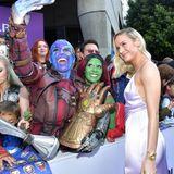 Einige der Fans haben besonders viel Zeit und Mühe in ihre Outfits gesteckt, um optisch ihrem Superhelden-Vorbild zu ähneln. Das dürfte auch Schauspielerin Brie Larson freuen.