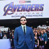 """Als """"Captain America"""" zeigt sich Schauspieler Chris Evans auch außerhalb der Marvel-Saga cool und lässig."""