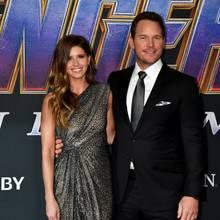 """Chris Prattund Katherine Schwarzenegger bei der Premiere von """"Avengers: Endgame"""""""