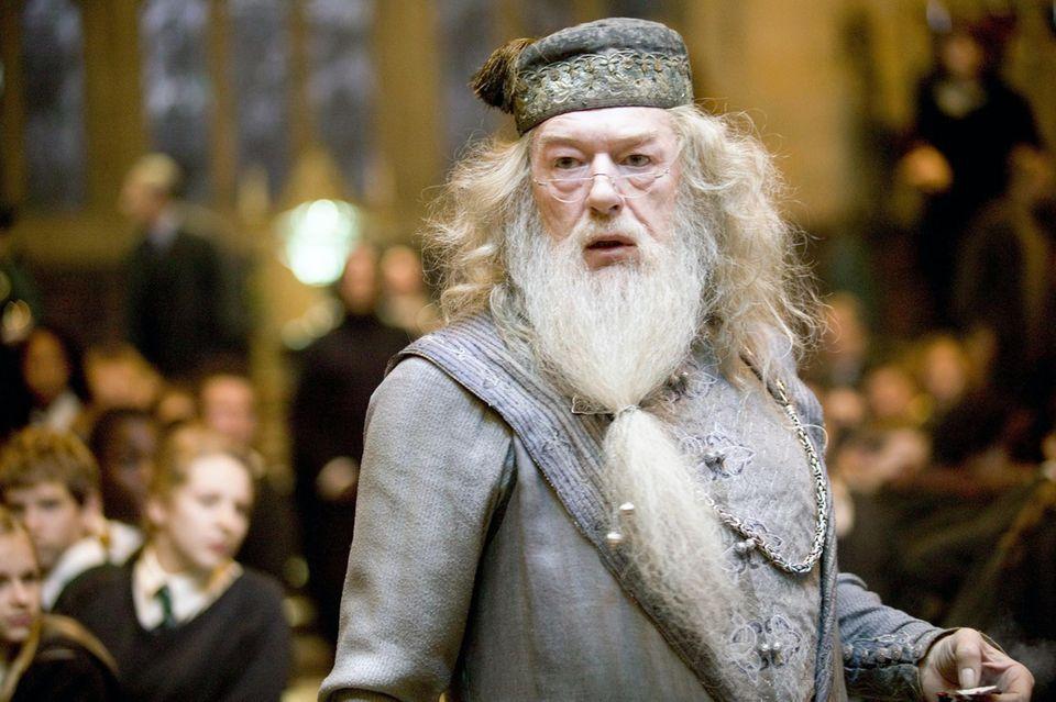 "Michael Gambon als Dumbledore in der ""Harry Potter""-Saga"