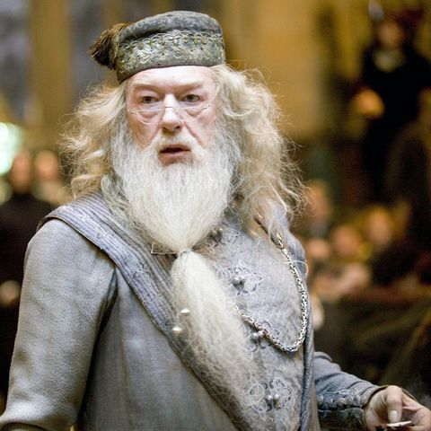"Michael Gambon als Dumbledore in der ""Harry Potter""-Saga"