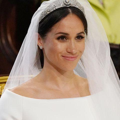 Herzogin Meghan am Tag ihrer Hochzeit zu Prinz Harry